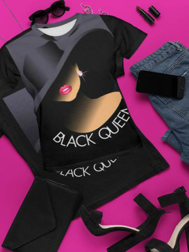 Black Queen All-Over T-shirt