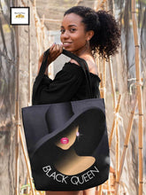 Load image into Gallery viewer, Black Queen Tote