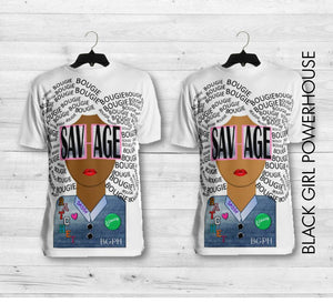All Over Savage T-Shirt