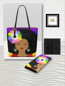Sunshine Purse or Wallet (Black Hair)