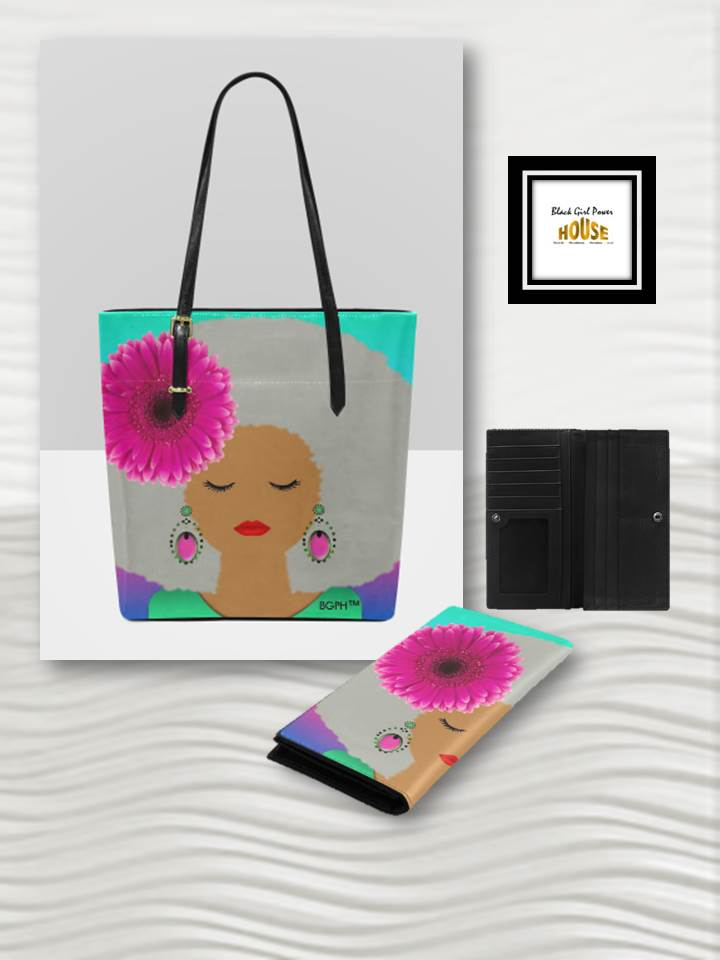 Sunshine Purse or Wallet (Gray Hair)