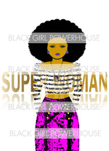 Load image into Gallery viewer, Superwoman Purple PNG