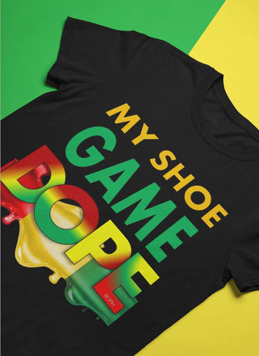SHOE GAME DOPE Kids T-Shirt African