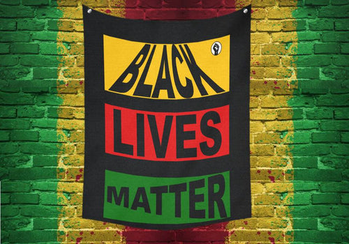 Black Lives Matter Tapestry 51 X 60