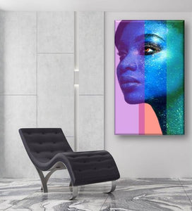 Blue Beauty Poster