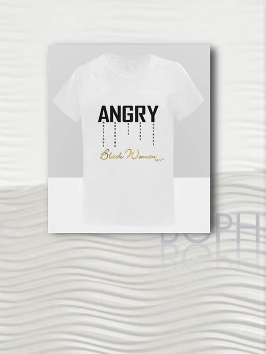 BGPH Angry Black Woman T-Shirt
