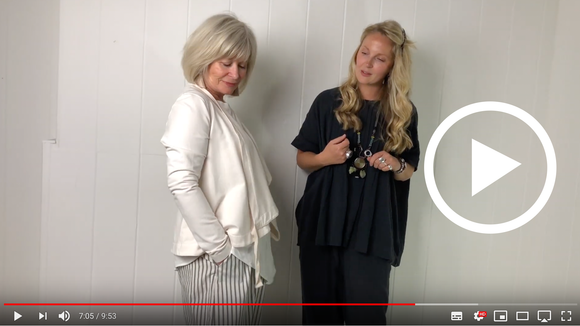 Nat from OSOboutique with the gorgeous Sheila showing us some Wedding inspo outfits and top styles for S/S19.