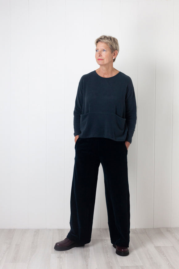 Mama B Lipsia Trousers - Ink