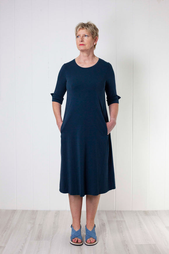 Mama B Fumo Dress - Navy