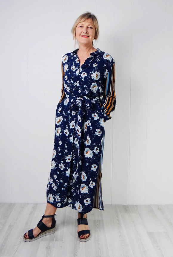 Bl-nk Aksa Long Shirt Dress