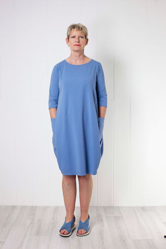 Mama B Golfo Izmir Dress - Sky Blue