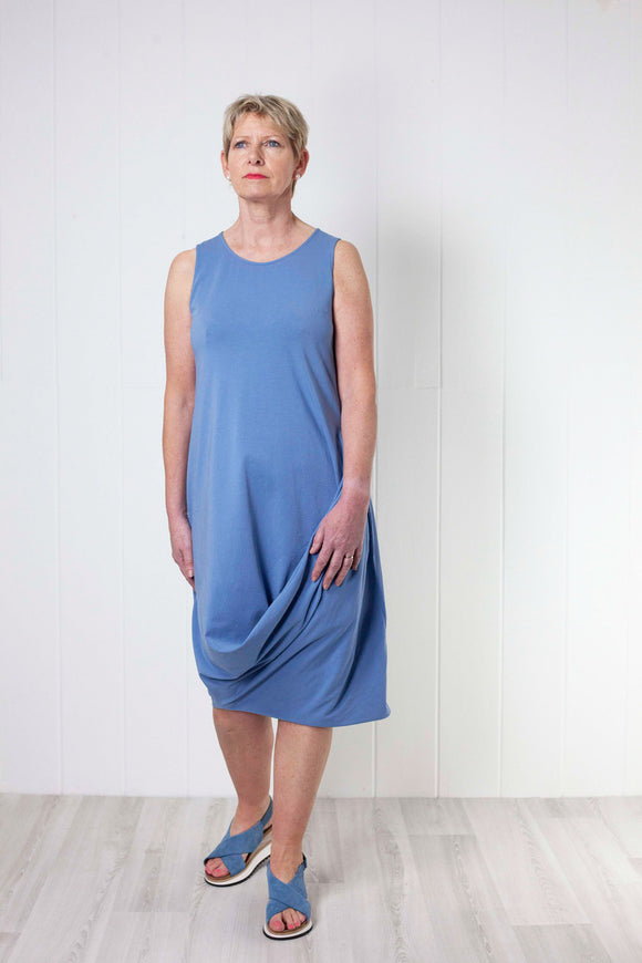 Mama B Robinia Dress - Sky Blue
