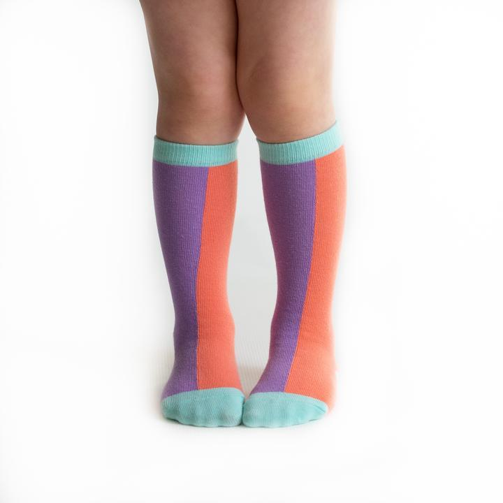 SPRING SUNSET KNEE HIGHS - Spinel Boutique