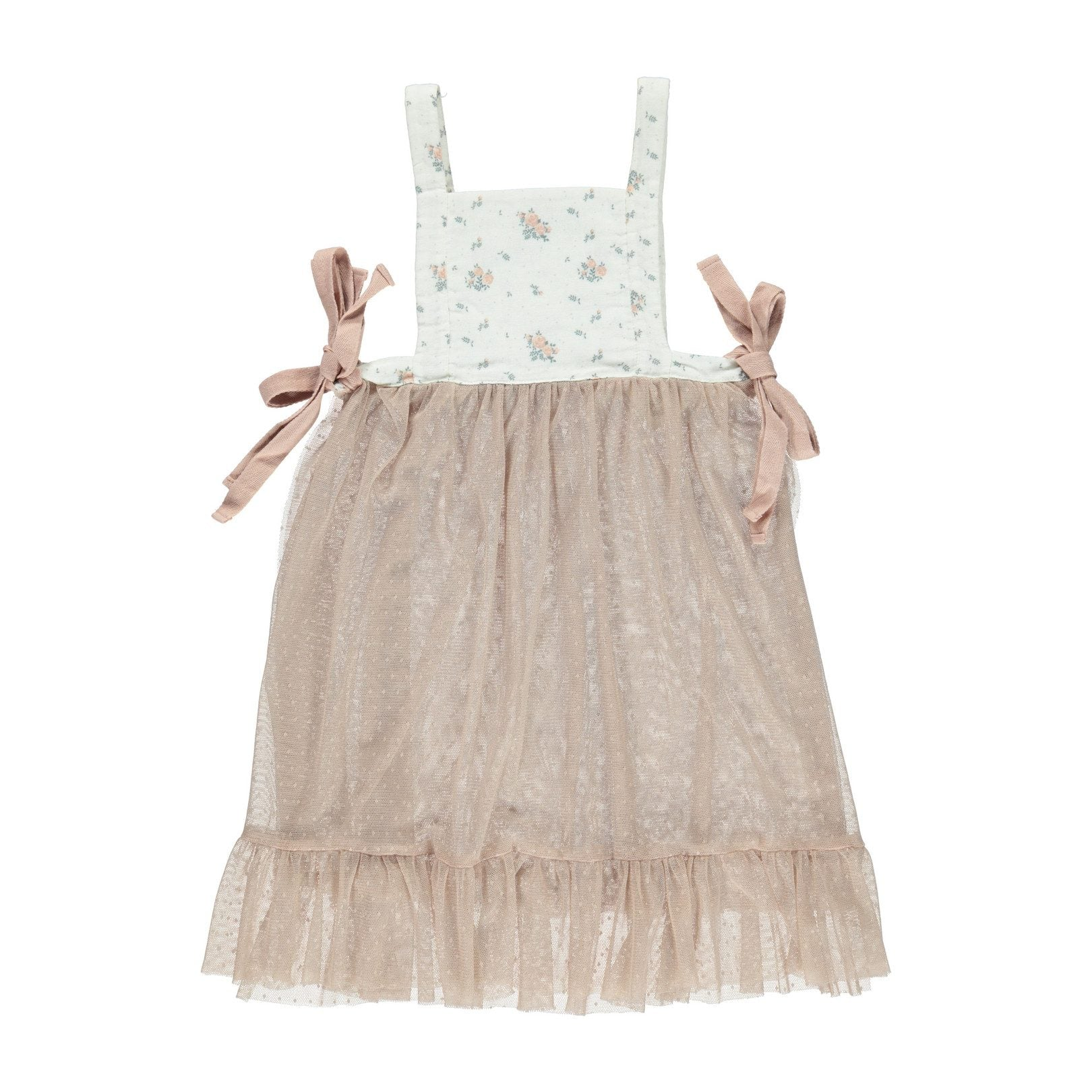 ORGANIC MELANIE APRON, WINTER BLOSSOM |BEBE ORGANIC - Spinel Boutique