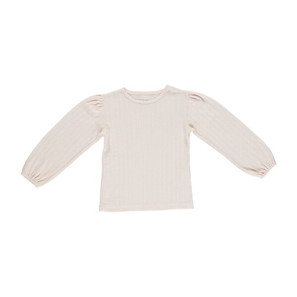BEBE ORGANIC - BEBE POUF TEE, LIGHT PINK - Spinel Boutique