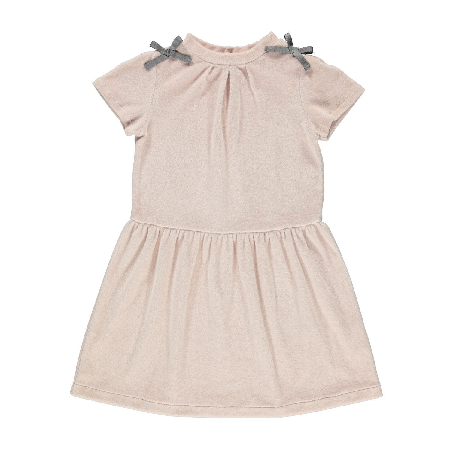 ORGANIC EMILIA DRESS, ROSE PETAL | BEBE ORGANIC - Spinel Boutique