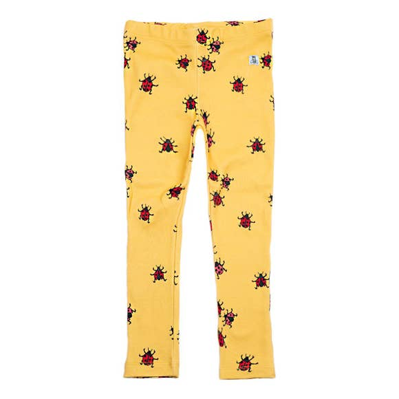 LADYBUGS MIMOSA LEGGINGS, YELLOW | SPINEL BOUTIQUE - Spinel Boutique