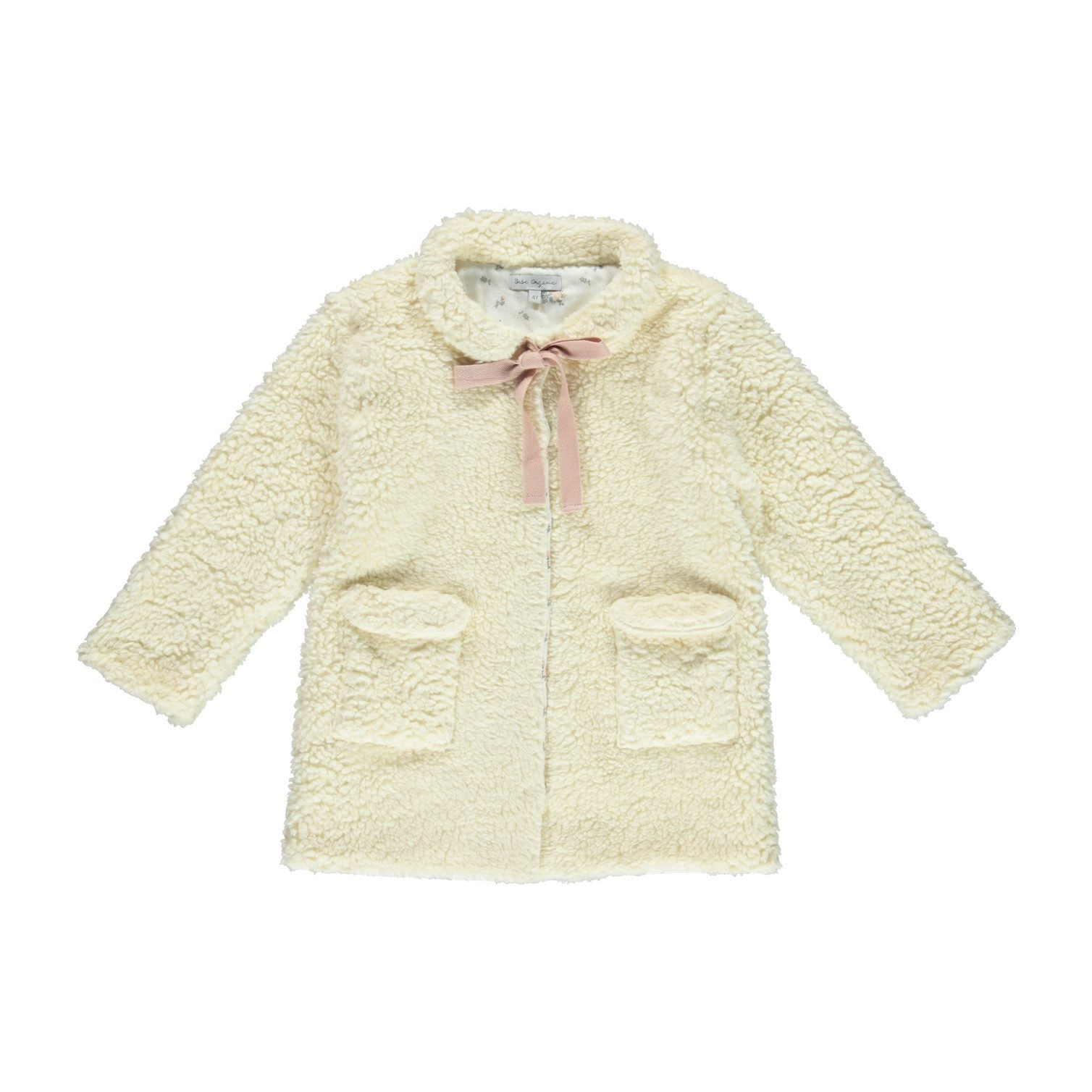 OLIVIA JACKET, NATURAL | BEBE ORGANIC - Spinel Boutique