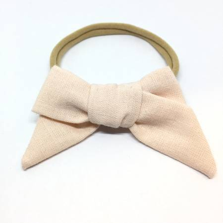 CHUNKY HAIR BOW - Spinel Boutique