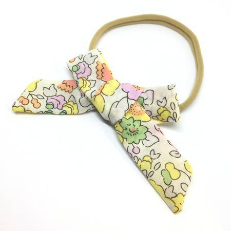 FLORAL CLASSIC HAIR BOW - Spinel Boutique