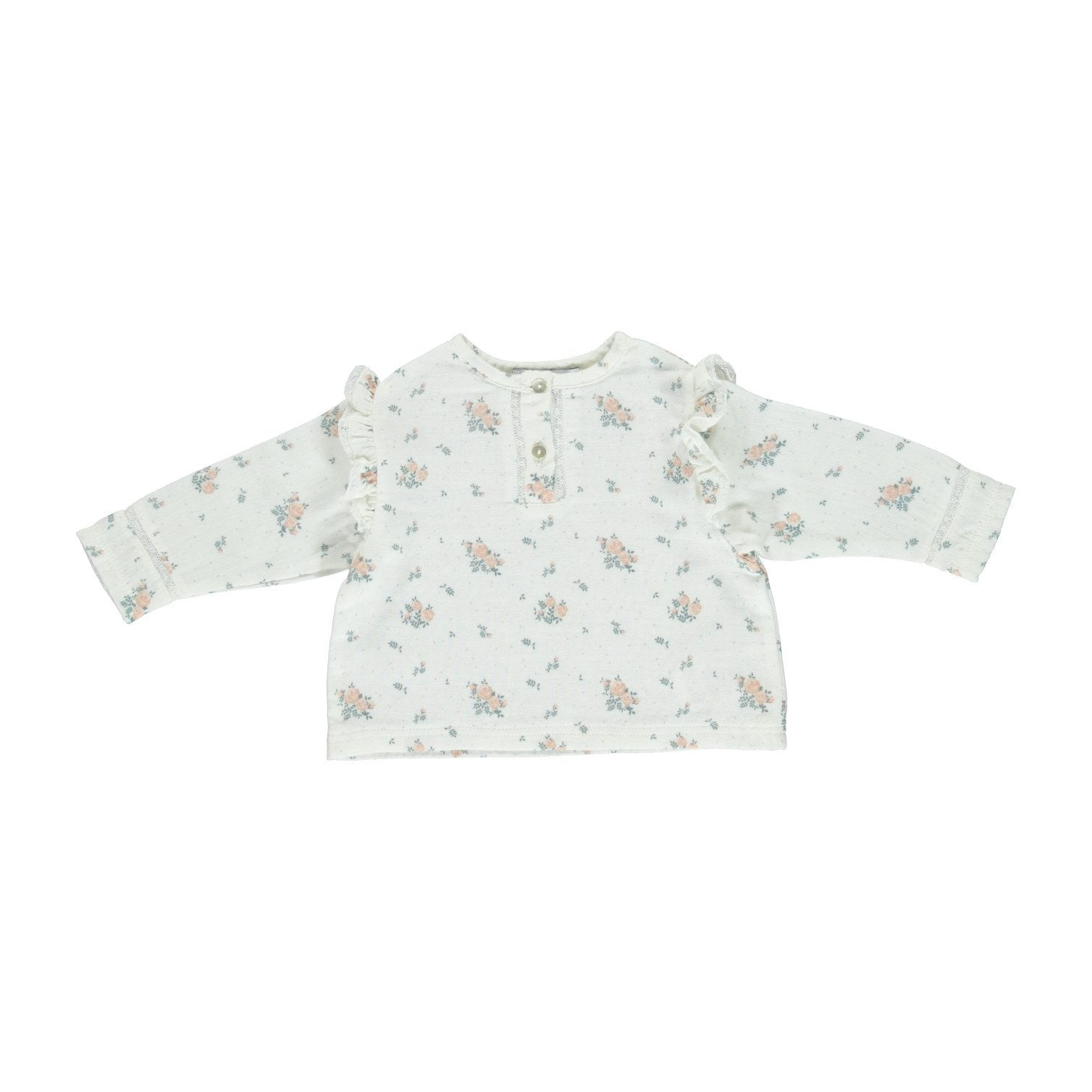 ORGANIC KAIA BLOUSE, WINTER BLOSSOM | BEBE ORGANIC - Spinel Boutique