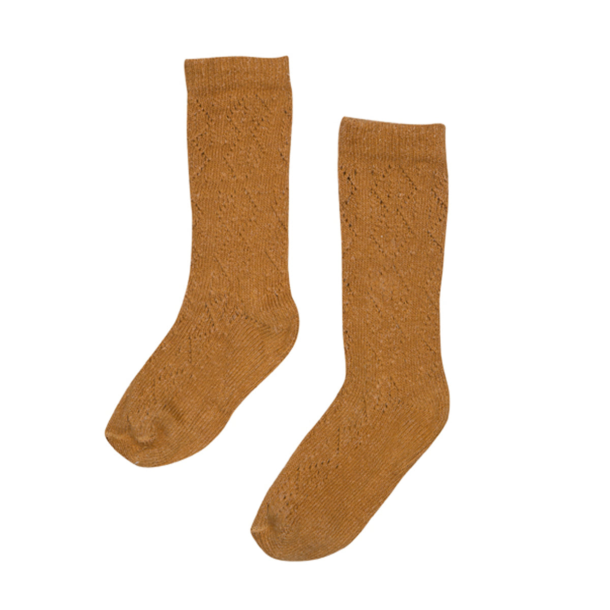 BEBE ORGANIC 'LOUISA' SOCKS, APPLE CINNAMON - Spinel Boutique
