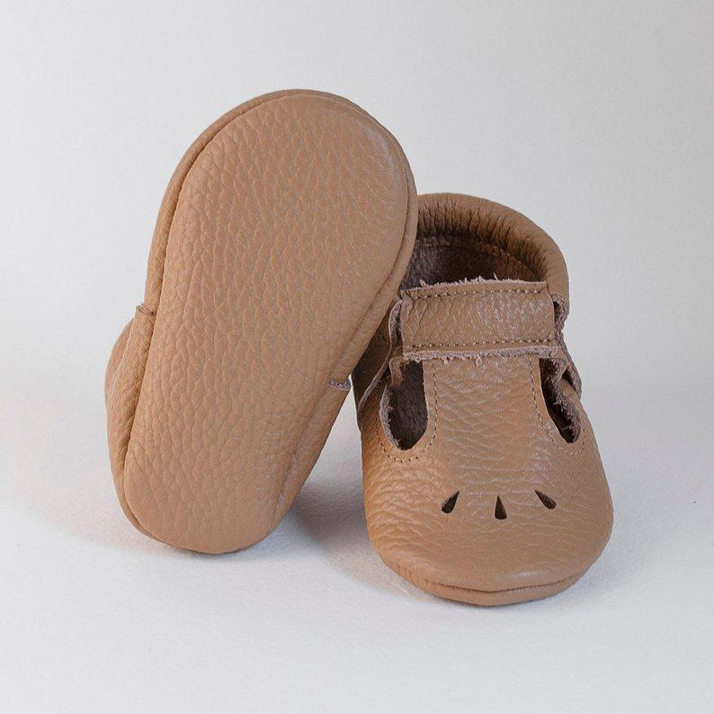 T-STRAP MOCCASINS - Spinel Boutique