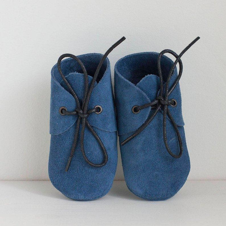 SHOELACE SUEDE MOCCASIN - Spinel Boutique