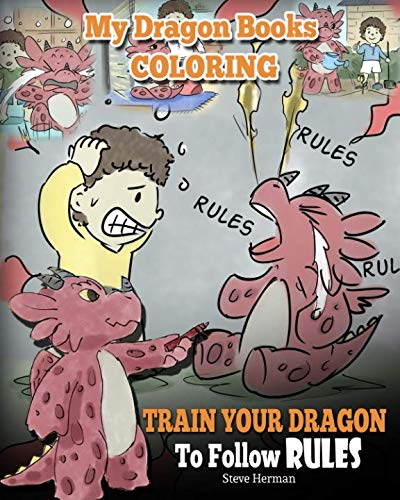 My Dragon Books Coloring – Train Your Dragon To Follow Rules