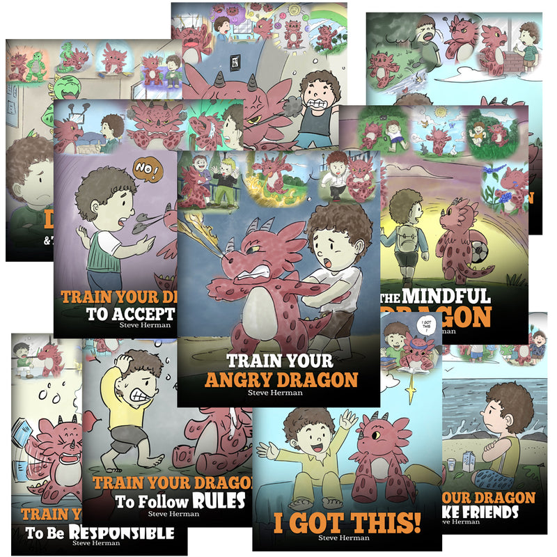 My Dragon Books Volume 11-20 (10 Books) (Paperback) (10% OFF)