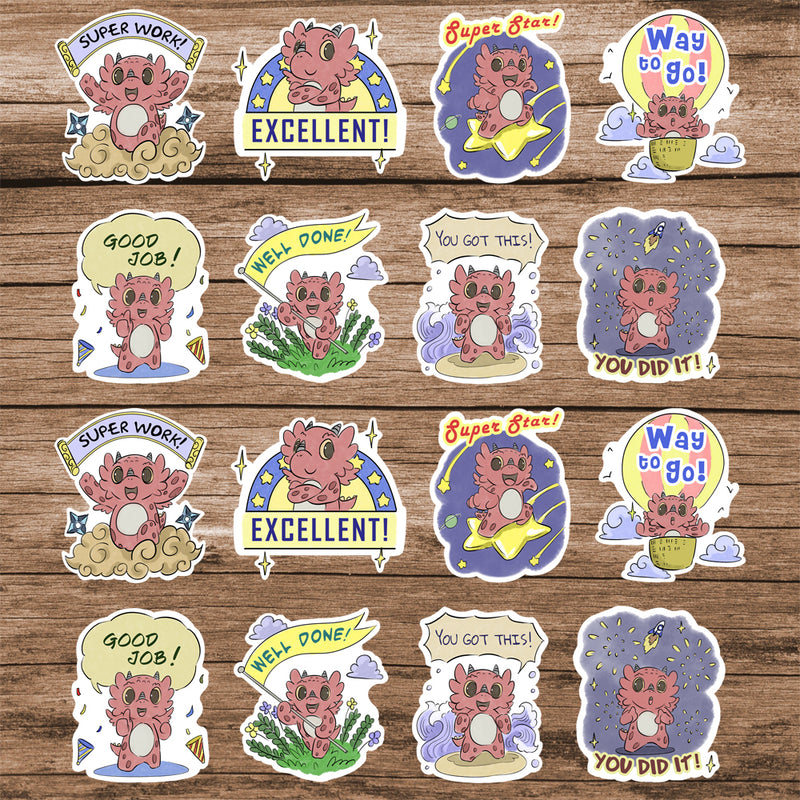 2'' Affirmation Stickers - Diggory Doo