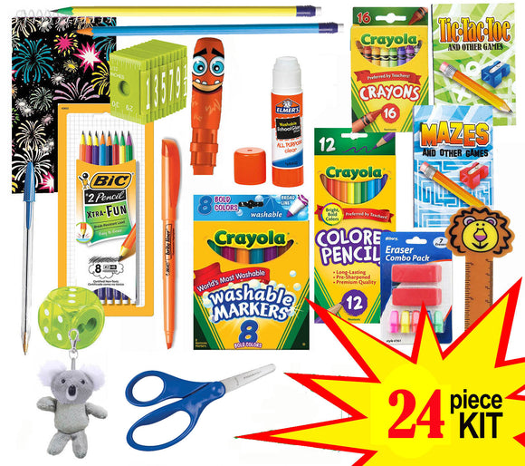 School Supply Kits and Low Minimum School Supplies