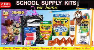 School Supplies for at Home use