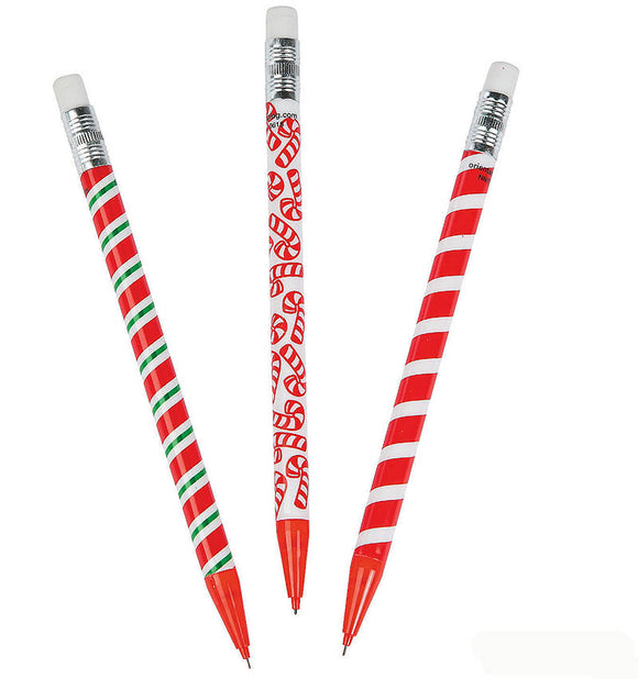 Candy Cane Mechanical Pencil, #10960