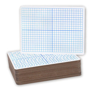 Dry Erase Board, X Axis, dual sided, #12000