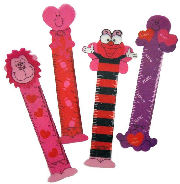 Valentine Bookmark Ruler,  #122505