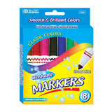 Washable Markers, Broad Pt, 8 ct. (24 boxes/unit), #1225 (B-45)