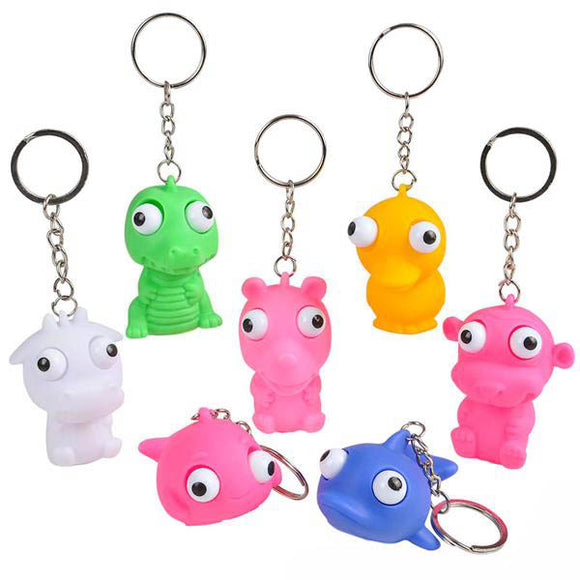 Googly-Eyed Animal Keychain, #12414