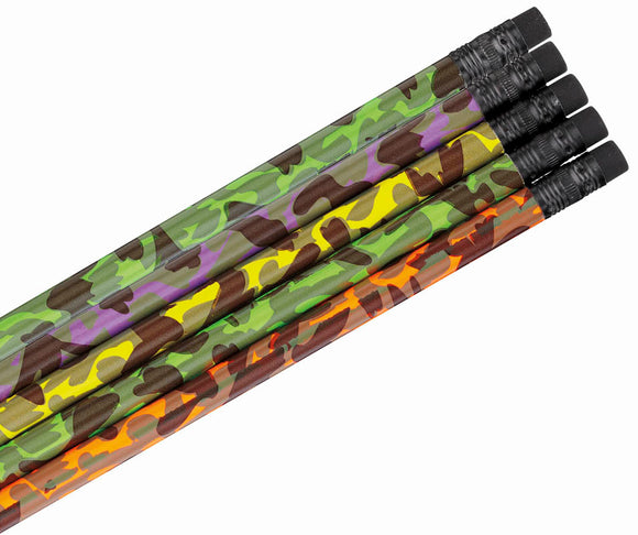 Camouflage Pencil Assortment, #1450
