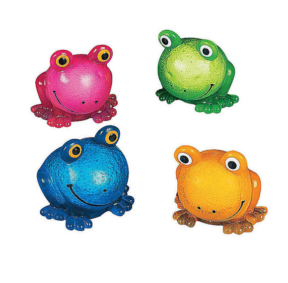Foam Filled Sticky Frog, #16678