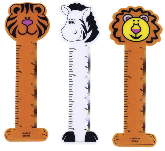 Jungle Bookmark Ruler,  #1686