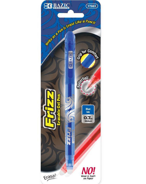 Erasable Pen, Blue, #17063