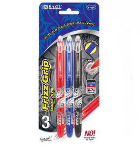 Erasable Pen Assorted 3 Pack, #17065