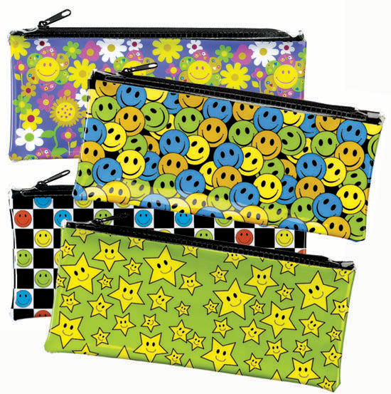 Smiles Pencil Pouch Assortment  #1810