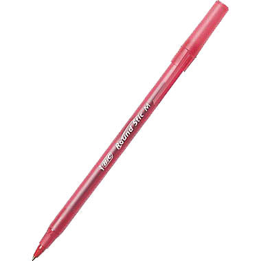 Bic Stic Pen - Red, #20118