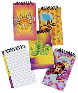 Bugs Mini Notepad, #2172
