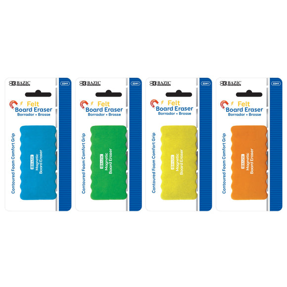 Dry Erase Magnetic Eraser (24/unit) #2241