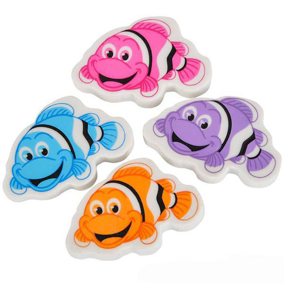 Clown Fish Eraser, #26886