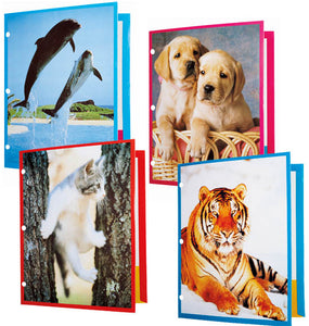 Animal Lover Pocket Folder, #2701