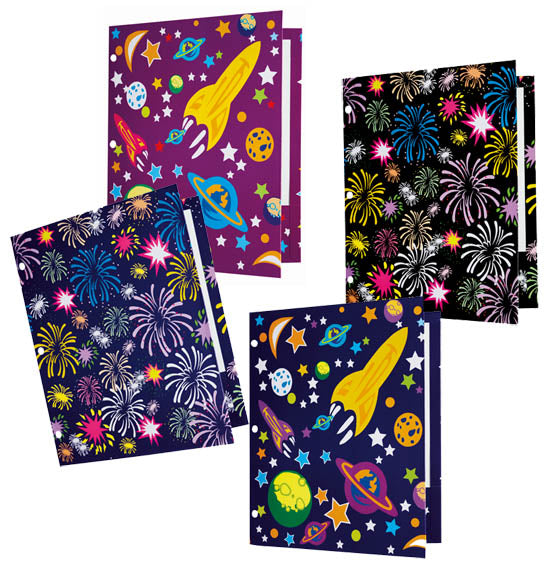 Fireworks Pocket Folder, #2705